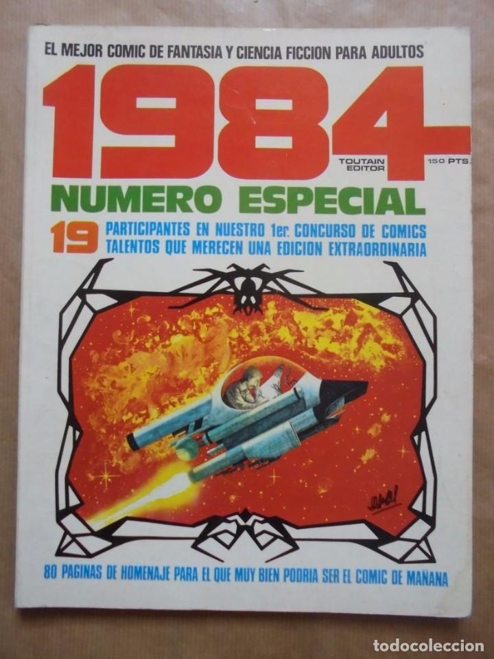 1984 NÚMERO ESPECIAL 1ER CONCURSO COMIC - TOUTAIN - JMV (Tebeos y Comics - Toutain - 1984)