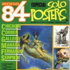 Zona 84. Especial sólo pósters Nº 4