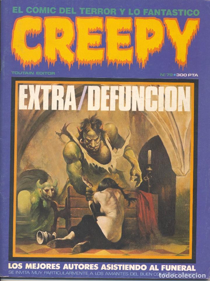 CREEPY Nº79. ÚLTIMO COLECCIÓN. TOUTAIN, 1985. CORBEN, JOSÉ ORTIZ, BEROY, JUAN GIMÉNEZ, BERZOSA... (Tebeos y Comics - Toutain - Creepy)