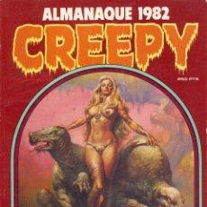 Cómics: ALMANAQUE CREEPY 1982. ALFREDO ALCALÁ, CORBEN, BEA, EISNER, FIGUERAS, MAROTO, MARTÍN SALVADOR.... Lote 77357425