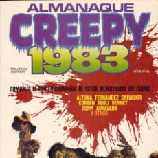 Cómics: ALMANAQUE CREEPY 1973. FERNÁNDEZ, SALVADOR, CORBEN, ABULI, BERNET, ALTUNA, TOPPI, AURALEÓN... . Lote 77369765