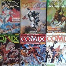 Cómics: LOTE COMICS COMIX INTERNACIONAL - 18 NÚMEROS. Lote 78328477