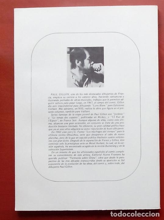 Cómics: BIBLIOTECA DE TÓTEM 13 - TORMENTA SOBRE CHINA de PAUL GILLON Y R. LECUREUX - Foto 2 - 79874697