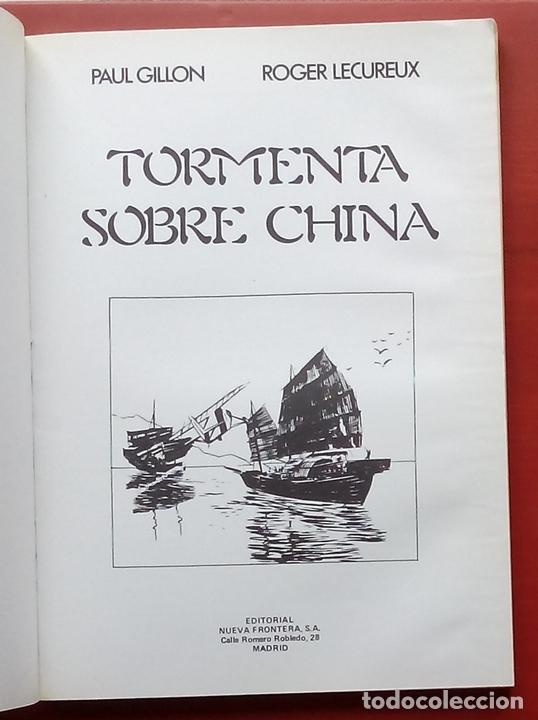 Cómics: BIBLIOTECA DE TÓTEM 13 - TORMENTA SOBRE CHINA de PAUL GILLON Y R. LECUREUX - Foto 3 - 79874697