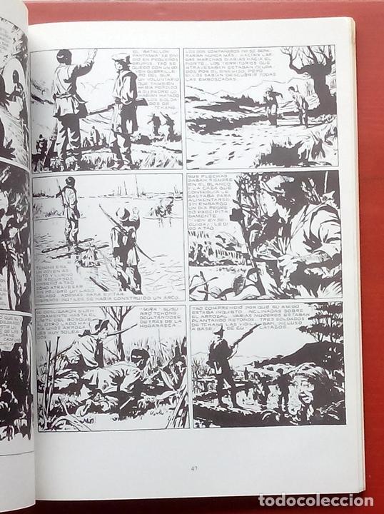 Cómics: BIBLIOTECA DE TÓTEM 13 - TORMENTA SOBRE CHINA de PAUL GILLON Y R. LECUREUX - Foto 5 - 79874697