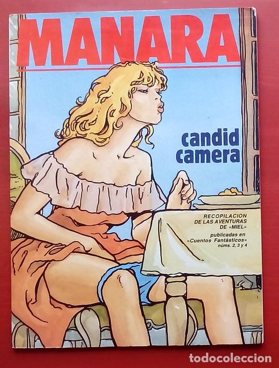 NEW COMIC 5 - CANDID CAMERA DE MILO MANARA (Tebeos y Comics - Toutain - Comix Internacional)