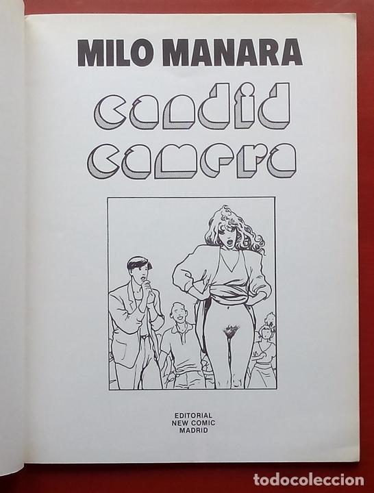 Cómics: NEW COMIC 5 - CANDID CAMERA de MILO MANARA - Foto 3 - 79874778
