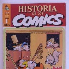 Cómics: HISTORIA DE LOS COMICS. TOUTAIN EDITOR. FASCICULO 1. Lote 79924273