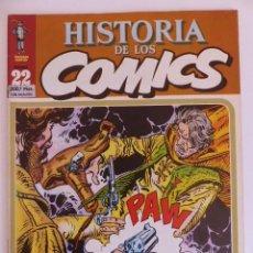 Cómics: HISTORIA DE LOS COMICS. TOUTAIN EDITOR. FASCICULO 22. Lote 79926649