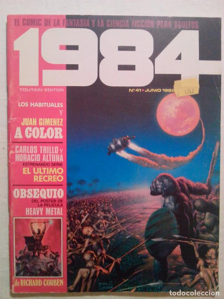 Cómics: POSTER DEN HEAVY METAL 1984 Nº 41 - RICHARD CORBEN - EDITORIAL TOUTAIN - Foto 2 - 80412077