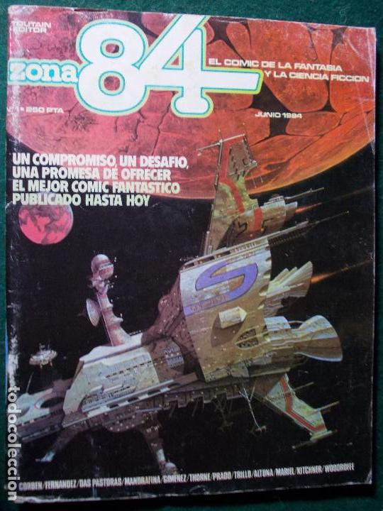 ZONA 84 Nº 1 (Tebeos y Comics - Toutain - Zona 84)