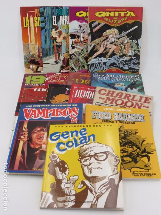 PACK TOUTAIN 2. 11 ÁLBUMES DIF. SUPERVIVIENTE, GENE COLAN, CHARLIE MOON, FRED HARMAN... OFRT (Tebeos y Comics - Toutain - Álbumes)