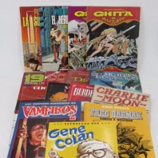 Cómics: PACK TOUTAIN 2. 13 ÁLBUMES DIF. GHITA, SUPERVIVIENTE, GENE COLAN, CHARLIE MOON, FRED HARMAN... OFRT. Lote 147981230