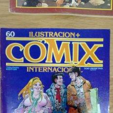 Cómics: ILUSTRACION + COMIX INTERNACIONAL Nº 60. Lote 81115792