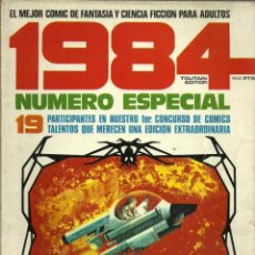 Cómics: 1984 NUMERO ESPECIAL CONCURSO - EDITOR TOUTAIN - 1980. Lote 81132560