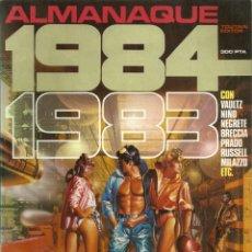 Cómics: 1984 ALMANAQUE 1983 - EDITOR TOUTAIN - 1982. Lote 81136392