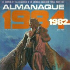 Cómics: 1984 ALMANAQUE 1981 - EDITOR TOUTAIN - 1982. Lote 81136840