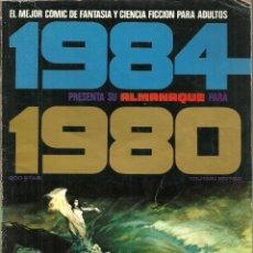 Cómics: 1984 ALMANAQUE 1980 - EDITOR TOUTAIN - AÑO 1980. Lote 81137524