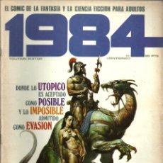 Cómics: 1984 - Nº 25 - EDITOR TOUTAIN. Lote 81137656