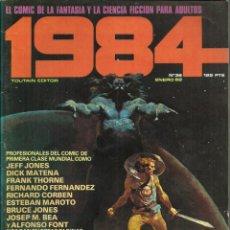 Cómics: 1984 - Nº 36 - TOUTAIN EDITOR - ENERO 1982. Lote 81140288