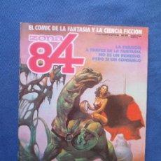 Cómics: ZONA 84 N.º 21 - TOUTAIN EDITOR 1985 - EL CÓMIC DE LA FANTASÍA Y LA CIENCIA FICCIÓN. Lote 82714708