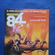 Cómics: ZONA 84 N.º 34 - TOUTAIN EDITOR 1986 - EL CÓMIC DE LA FANTASÍA Y LA CIENCIA FICCIÓN. Lote 82715404