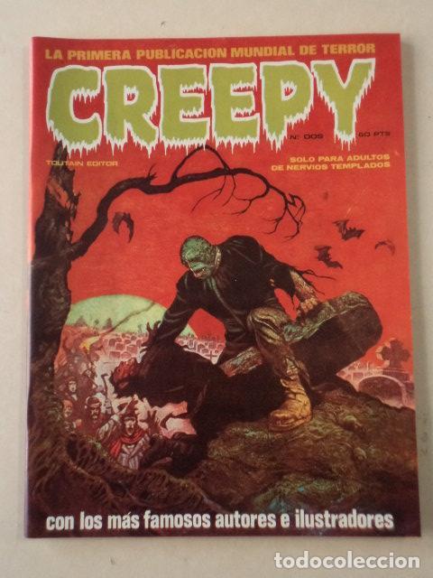 CREEPY Nº 2 - NUEVO A ESTRENAR (Tebeos y Comics - Toutain - Creepy)