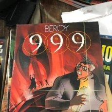 Cómics: 999 (666) - JOSÉ Mª BEROY - TOUTAIN EDITOR - AÑO 1988.. Lote 83532808