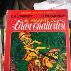 Cómics: EL AMANTE DE LADY CHATTERLEY, IL. D.H. LAWRENCE, EDITOR TOUTAIN. Lote 83741892