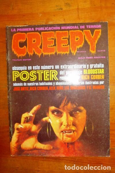 CREEPY. Nº 12 (Tebeos y Comics - Toutain - Creepy)