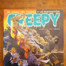 Cómics: CREEPY. Nº 34 ; ABRIL 1982. Lote 84356044