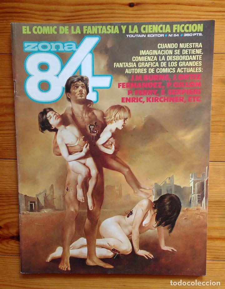ZONA 84 - Nº 54 (Tebeos y Comics - Toutain - Zona 84)