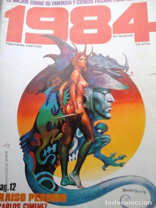COMIC TOUTAIN 1984 9 CON RICHARD CORBEN (Tebeos y Comics - Toutain - 1984)