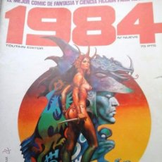 Cómics: COMIC TOUTAIN 1984 9 CON RICHARD CORBEN --REFSAMUMEES6. Lote 85150344