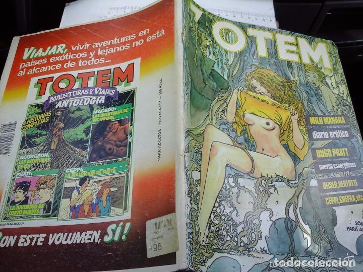 COMIC NUEVA FRONTERA TOTEM MAGAZINE 63 (Tebeos y Comics - Toutain - Otros)