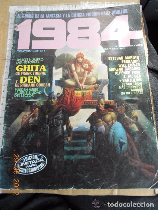 COMIC CIENCIA FICCION TOUTAIN 1984 34 CON DEN DE CORBEN ZORA DE FERNANDEZ GITA D THORN --REFSAMUMEES (Tebeos y Comics - Toutain - 1984)