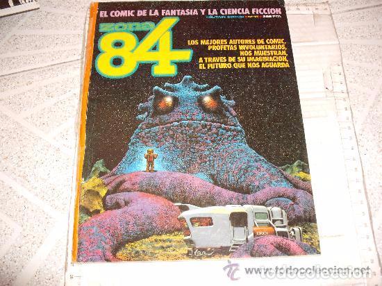 COMIC AVENTURAS ZONA 84 15 REPORTAJE ROBERT E HOWARD --REFSAMUMEES6 (Tebeos y Comics - Toutain - Zona 84)