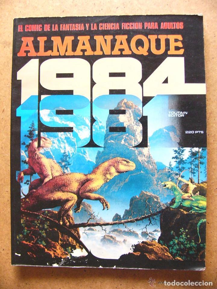 COMIC ALMANAQUE 1984 PARA 1981 - EDITORIAL TOUTAIN 1980 (Tebeos y Comics - Toutain - 1984)