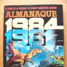 Cómics: COMIC ALMANAQUE 1984 PARA 1981 - EDITORIAL TOUTAIN 1980 --REFSAMUMEES6. Lote 85150944
