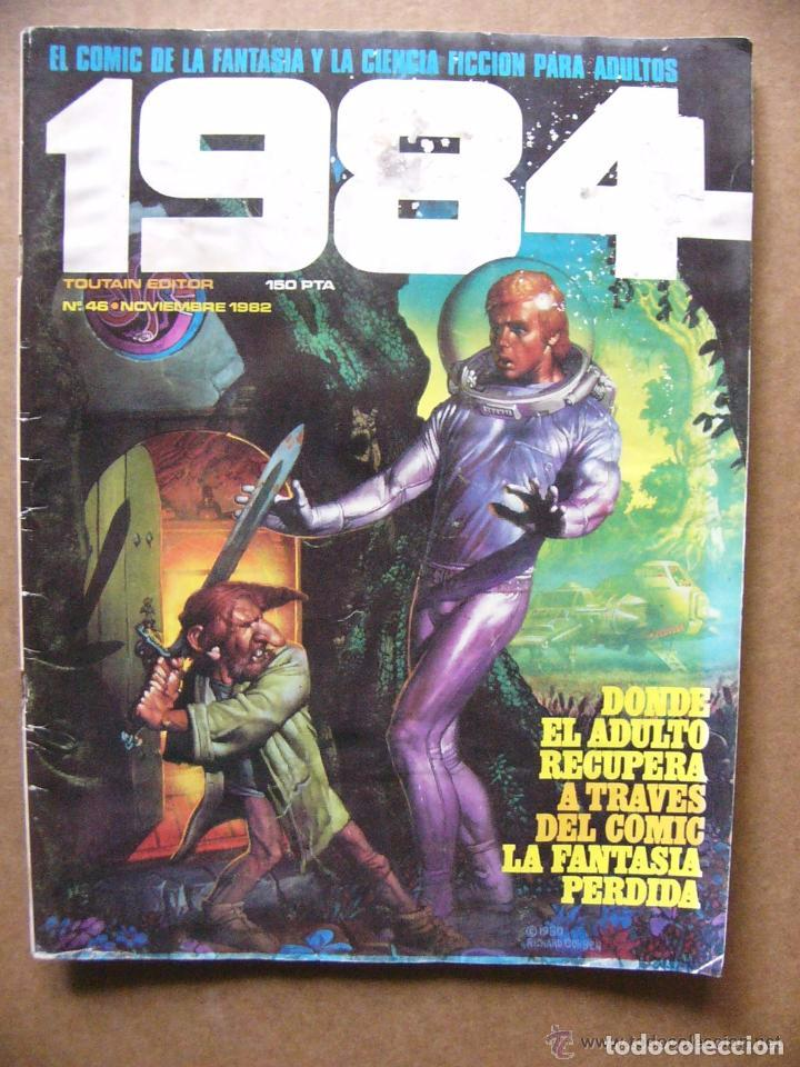 COMIC 1984 Nº 46 FANTASIA Y CIENCIA FICCION - TOUTAIN EDITOR --REFSAMUMEES6 (Tebeos y Comics - Toutain - 1984)