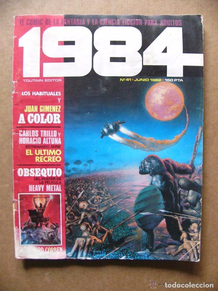 COMIC 1984 Nº 41 FANTASIA Y CIENCIA FICCION - TOUTAIN EDITOR (Tebeos y Comics - Toutain - 1984)