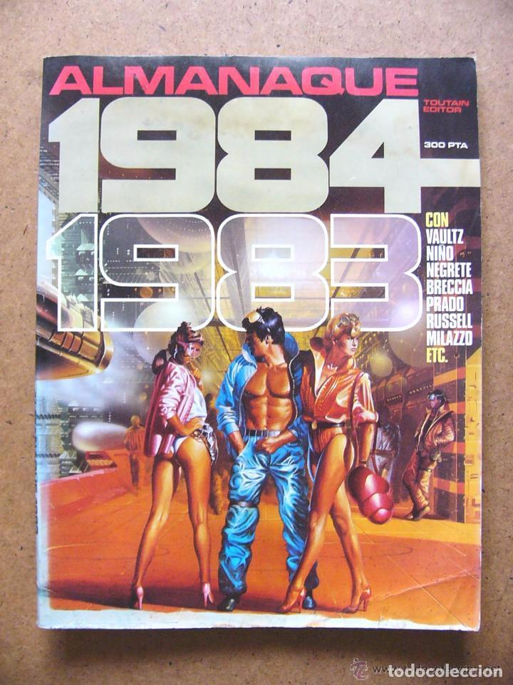 COMIC 1984 ALMANAQUE DE 1983 - EDITORIAL TOUTAIN --REFSAMUMEES6 (Tebeos y Comics - Toutain - 1984)