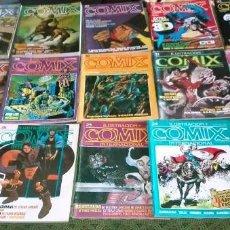 Cómics: COLECCIÓN 22 EJEMPLARES DE COMICS CÓMIX INTERNACIONAL. Lote 85300812