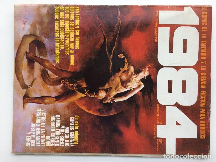 1984 TOUTAIN Nº 19. SEGUNDA EDICION (Tebeos y Comics - Toutain - 1984)