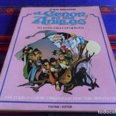 Cómics: EL SEÑOR DE LOS ANILLOS, LORD OF THE RINGS LA PELÍCULA COMPLETA. TOUTAIN 1980. BUEN ESTADO.. Lote 86915956