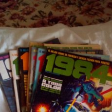 9 numeros del comic 1984.Nsº 1,2,4,5,6,7,8,9 y 32.