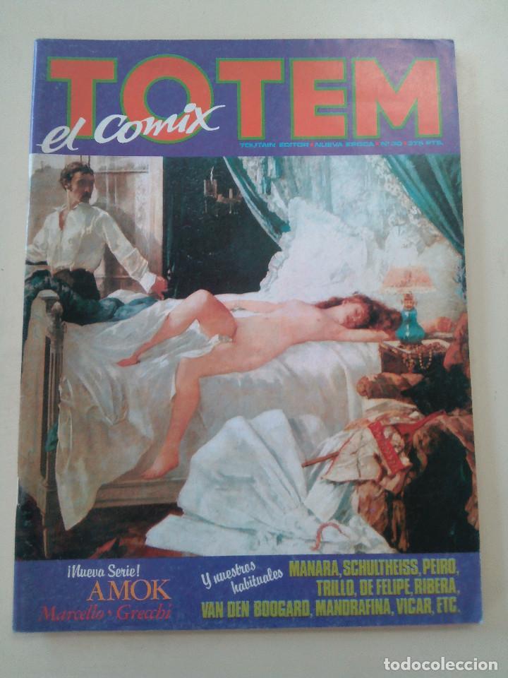 TOTEM EL COMIX-LOTE 2 COMICS + 1 TOTEM CALIBRE 38 DE REGALO-ED. TOUTAIN-1980-OPORTUNIDAD-VER (Tebeos y Comics - Toutain - Otros)