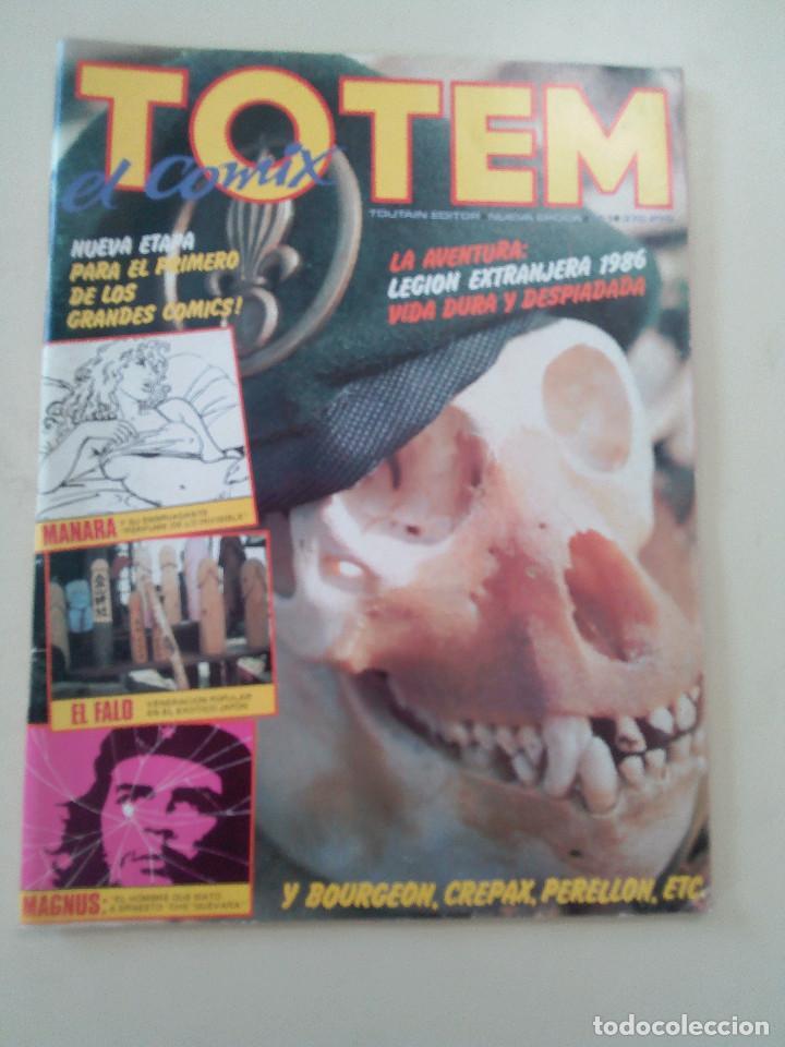 Cómics: TOTEM EL COMIX-LOTE 2 COMICS + 1 TOTEM CALIBRE 38 DE REGALO-ED. TOUTAIN-1980-OPORTUNIDAD-VER - Foto 2 - 87532724
