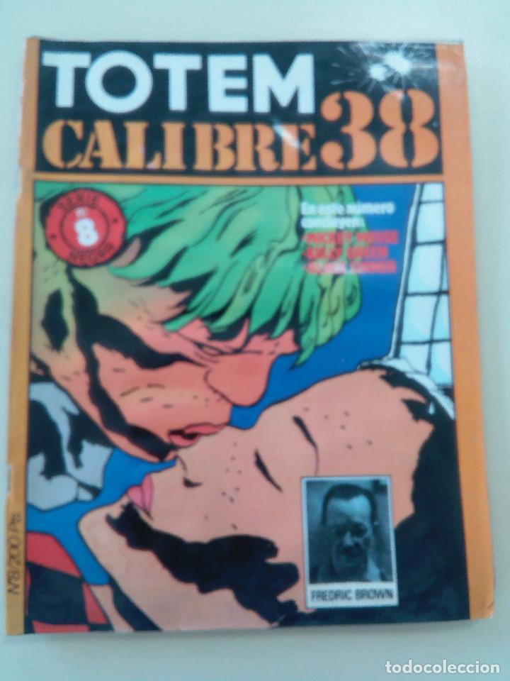 Cómics: TOTEM EL COMIX-LOTE 2 COMICS + 1 TOTEM CALIBRE 38 DE REGALO-ED. TOUTAIN-1980-OPORTUNIDAD-VER - Foto 3 - 87532724