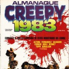 Cómics: CREEPY ALMANAQUE 1983 (TOUTAIN,1983) - RICHARD CORBEN - SERGIO TOPPI - AURALEON - JOAN BOIX. Lote 87642444